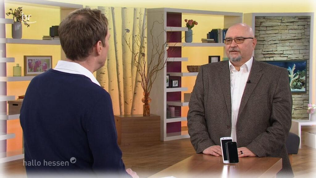 Live-Auftritt im Hessischen Rundfunk TV